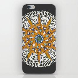 Crotchet Mandala iPhone Skin