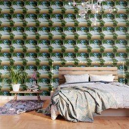 Palm Trees - Seashore - Paradise - Ocean - Blues Wallpaper