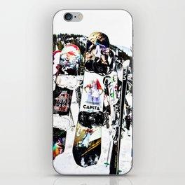 Snowboard Season iPhone Skin
