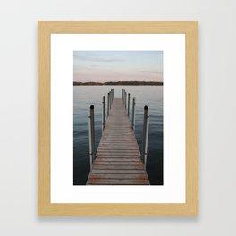 Lake Minnetonka  - Wild Veda Framed Art Print