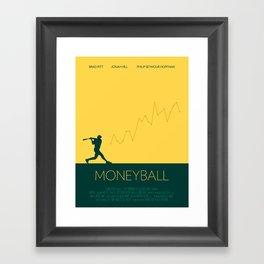 Moneyball Framed Art Print