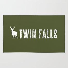 Deer: Twin Falls, Idaho Rug