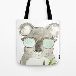 Mr. Koala in sunglasses Tote Bag