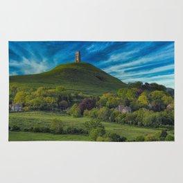 Glastonbury Tor Rug