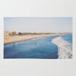 Beach Day at Santa Monica Rug