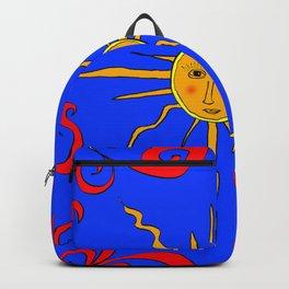 SunOnTheBlueSky Backpack
