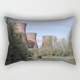 The Ironbridge Power Station Rectangular Pillow