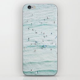 IT'S CROWDED FOR THE CROWD iPhone Skin