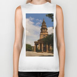 St. Philip's Church Charleston Biker Tank