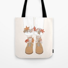 Autumn Walks Tote Bag
