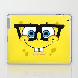 Spongebob Nerd Face Laptop & iPad Skin