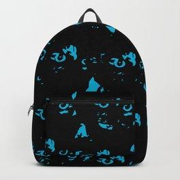 Tortoiseshell All-Over Backpack