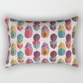 Batik Style Rectangular Pillow