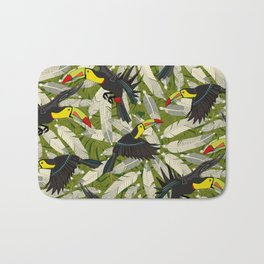 toucan jungle Bath Mat