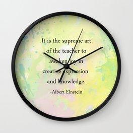 Supreme Art Wall Clock