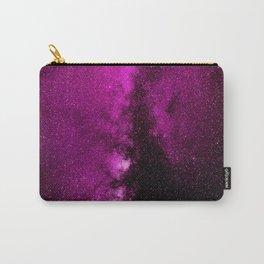 Fuchsia Galaxy Carry-All Pouch