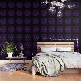 Sebastian Michaelis Sigil Dark (black bg) Wallpaper