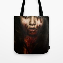 Bloody Tote Bag