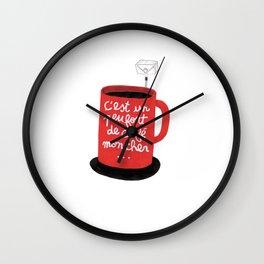 Fort de Café Wall Clock