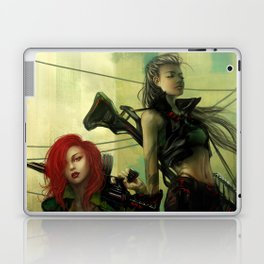 Hot pepper - Sci-fi soldier girls with weapons Laptop & iPad Skin