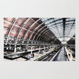 Paddington Station Art Rug