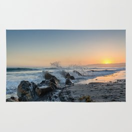Santa Barbara Coastline Rug