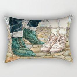 Brogues for a date Rectangular Pillow