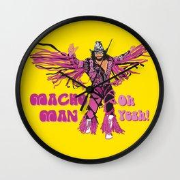 Macho Man Randy Savage Wall Clock