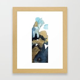 aerial view abstract #1 Framed Art Print