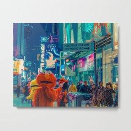 It's Elmo Metal Print