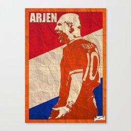 Arjen Robben Canvas Print