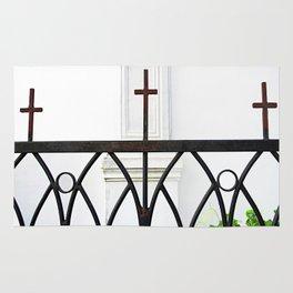 Church Fence Rug