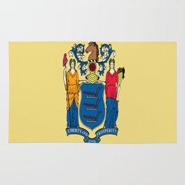 Flag new jersey, america,usa,northeastern,Jerseyan, Jerseyite,Garden State,newark,Paterson,Elizabeth Rug