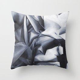 Crumpled Up Throw Pillow