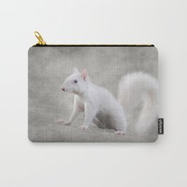 Albino Squirrel Carry-All Pouch