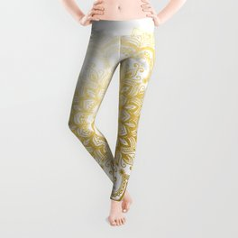 Pleasure Gold Leggings