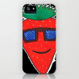 Strawberry iPhone Case