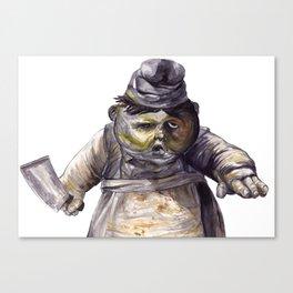Little Nightmares - Cook Canvas Print