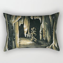 The Walk of Time Rectangular Pillow