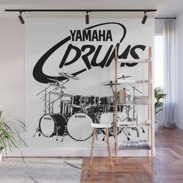 Double Bass Drum Set-Rock,Pop,Jazz,Metal,Blues,-Music Wall Mural