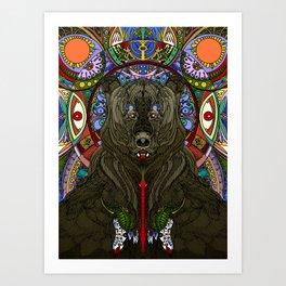 Bear: Spirit of the Forest Art Print