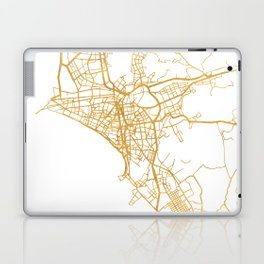 LIMA PERU CITY STREET MAP ART Laptop & iPad Skin