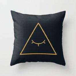cipher Throw Pillow