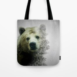 Pacific Grizzly Tote Bag