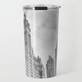 Chicago Iconic Wrigley Building Travel Mug