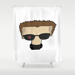 Supertype T Shower Curtain