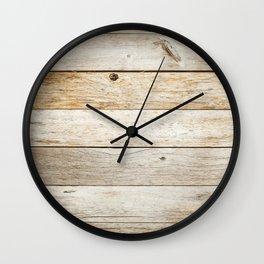 Vintage Wood Wall Clock