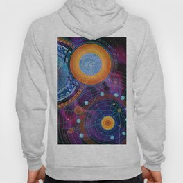 MOON AND PLANETS Hoody