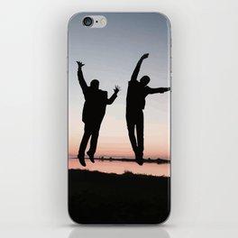 Sunset Jump iPhone Skin
