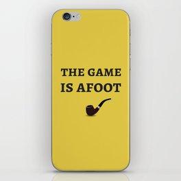 The Sherlock Holmes Quote II iPhone Skin